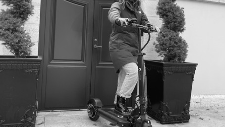 The Best way to ride an Electric Scooter