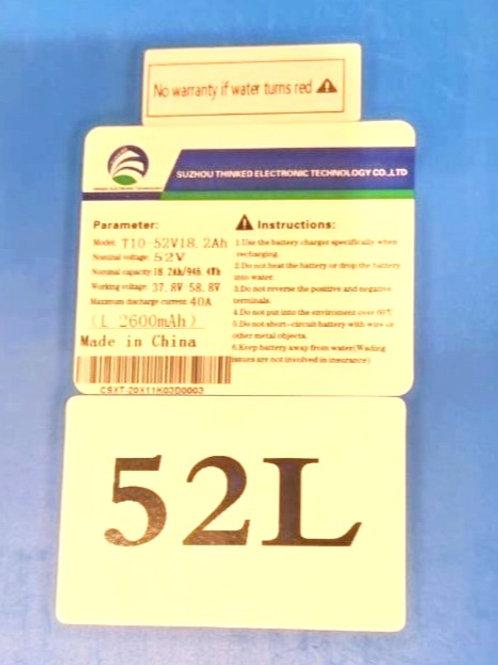 LG Battery 52V18.2A