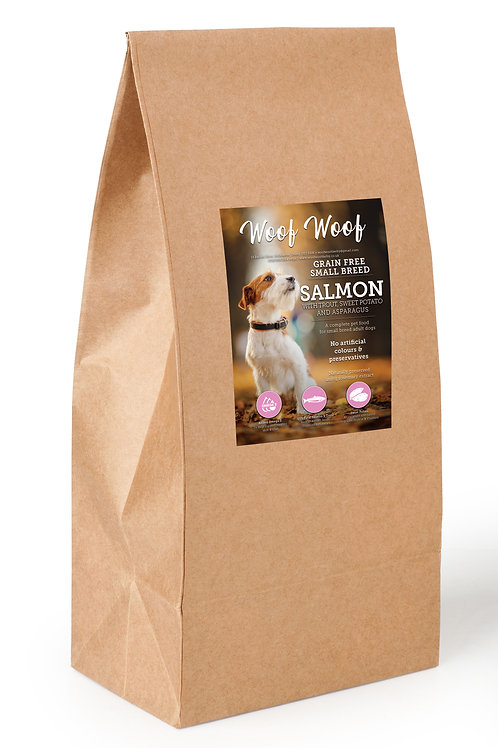 Small Breed Grain Free Salmon