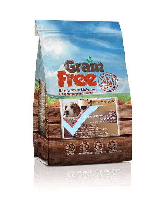 Salmon Light Grain Free Dog Food