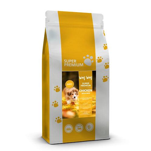 Super Premium Puppy Chicken and Rice
