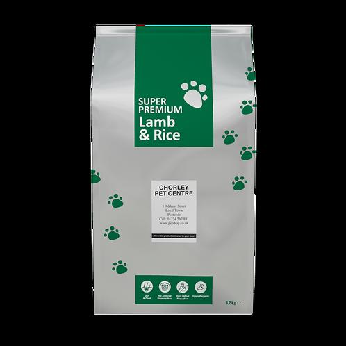 Super Premium Adult Lamb and Rice