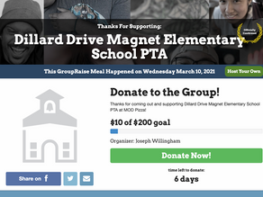 Let's keep the love for DDMES Fundraising Going!