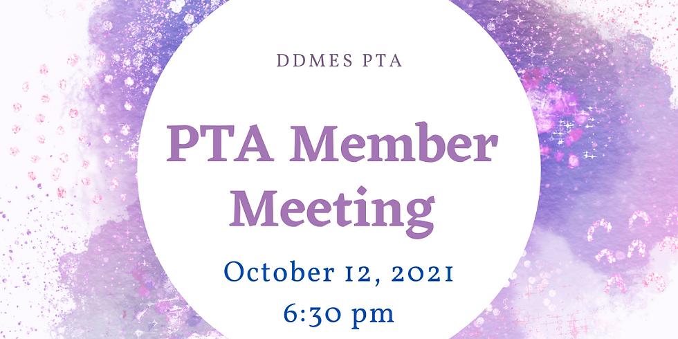 DDMES PTA Member Meeting (Virtual)
