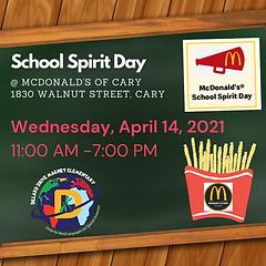 Spring School Spirit Day McDonalds.png