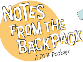 Notes From the Backpack Is Back