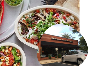 Chipotle... It's whats for dinner June 9th 2021 Dragonflies
