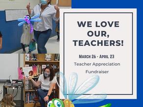 It's a Fundraiser for our Teachers!