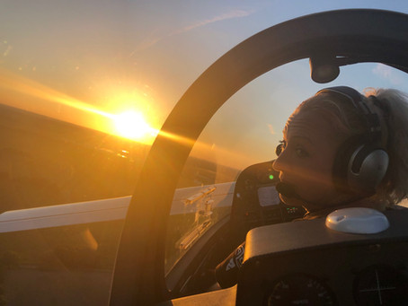 Canard Flight Academy Graduate Petra Sobotka!