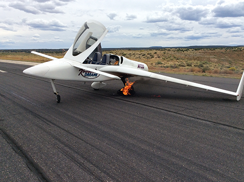 Composite Canard Rutan inspired JET