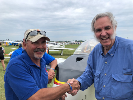 "Burt Rutan honored with AOPA's R.A. ""Bob"" Hoover Award!"