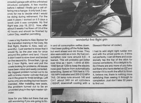 David Brown Central States Newsletter Oct 2012