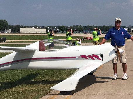 Keith Welsh Quickie,  Rutan Reunion Flight Aircraft on Tour! LIVE