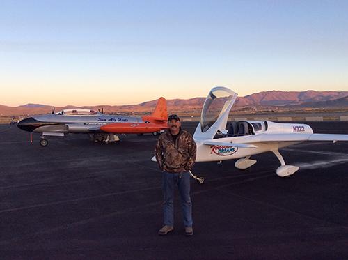 Ryszard Zadow leaving Reno in CozyJe