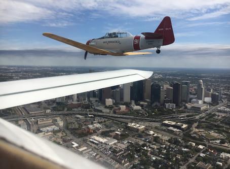 Houston-Ellington Spaceport Canard Base gets it's first RAFE aircraft!