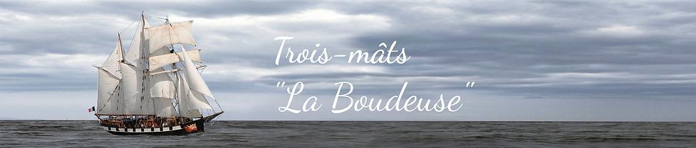 """Bandeau de """"La Boudeuse"""""""