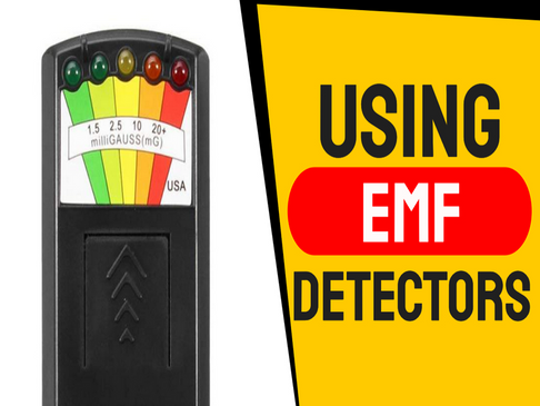 How to Use an EMF Detector. Difference between EMF and Geomagnetism.