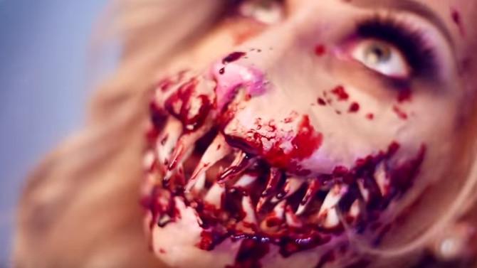 Horror bunny special fx makeup tutorial