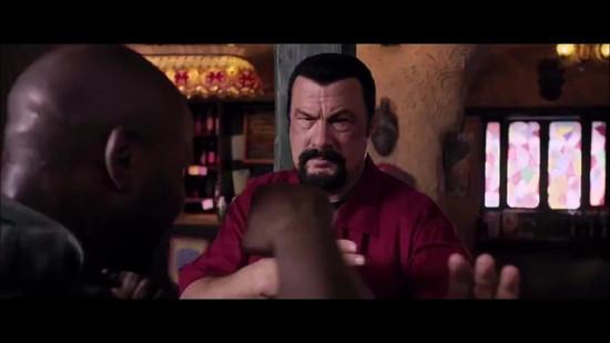 Mike Tyson vs Steven Seagal