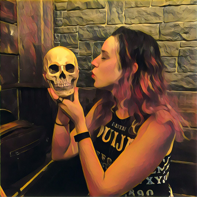 Anatomy Of A Scream Founder and Executive Editor of Grim Magazine  - Valeska Griffiths Interview