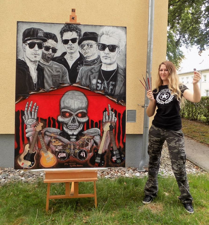 Interview with Nika Bendra Horror Artist