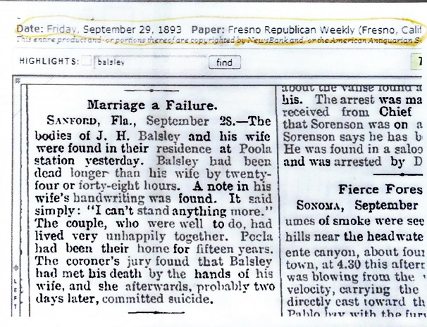 1893 News Article