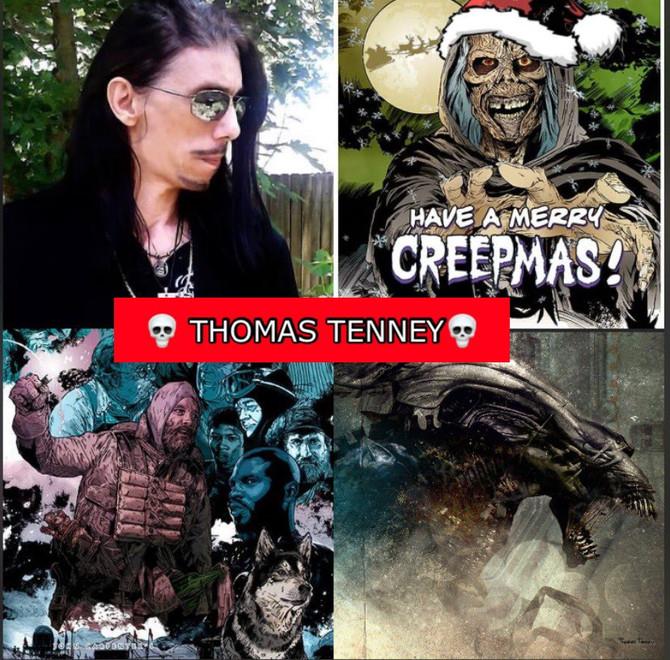 Thomas Tenney, Meet the artist behind the new Creepshows Creep