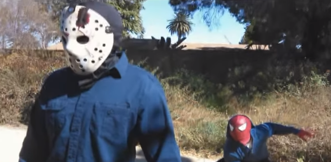 Spiderman vs Jason Voorhees