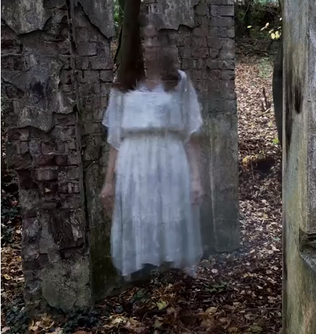 In Camera Ghost Effect - Photograph
