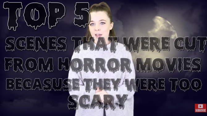 Top 5 Scenes That Were Cut From Horror Movies Because They Were Too Scary