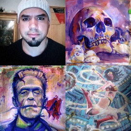 Alex Reynoso: Painting With Horror