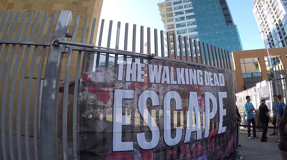 Comic Con Walking Dead