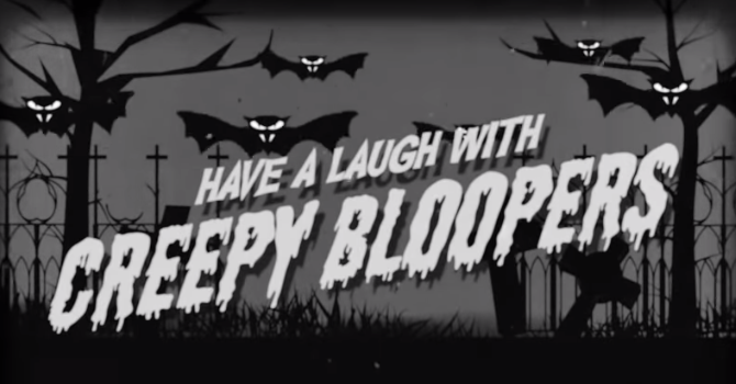 HORROR MOVIE BLOOPERS