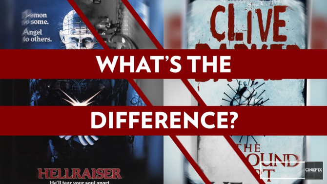 Hellraiser - What's The Difference?