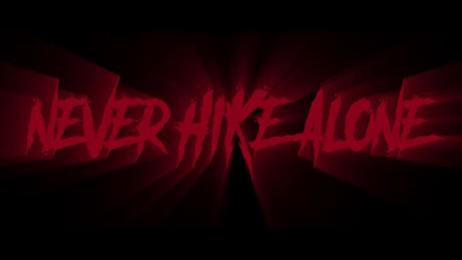 Never Hike Alone - Friday the 13th