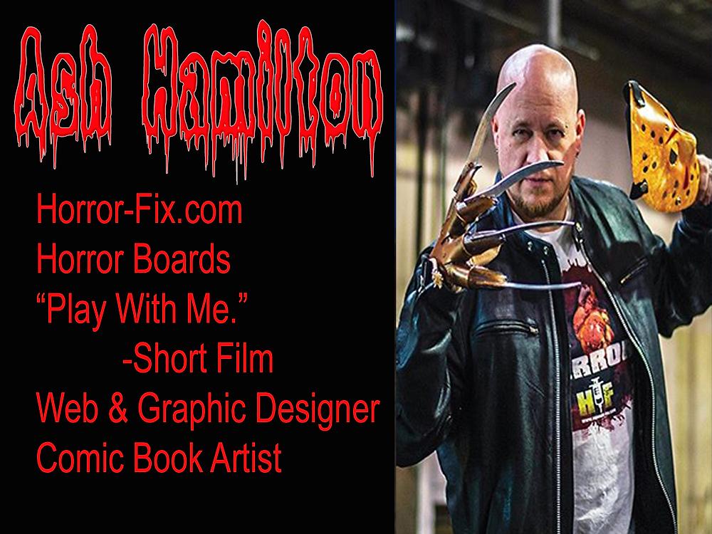 Ash Hamilton Owner of Horror-Fix.com