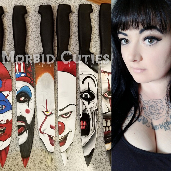 Chopping it up with Alana Bates with her killer CUTlery and Morbid Cuties