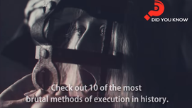 Top 10 Most Brutal Methods of Execution in History