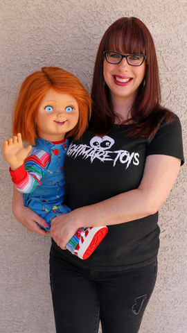 Kristy Adams and her terroriffic toys