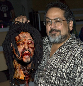 Meet the morbid make up man, Rick Gonzales