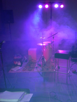 Mark Brazil Stage Equipment in fog