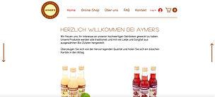 Aymer's Bio Ingwer und Hibiskus Drinks und Syrups