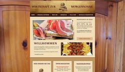 WIRTSCHAFT ZUR MORGENSONNE