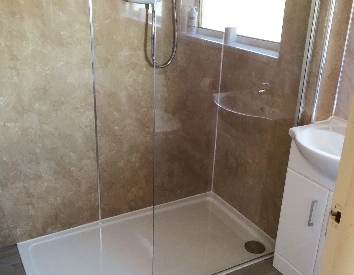 Low level Shower, Ability Bathing, Boston, Lincolnshire