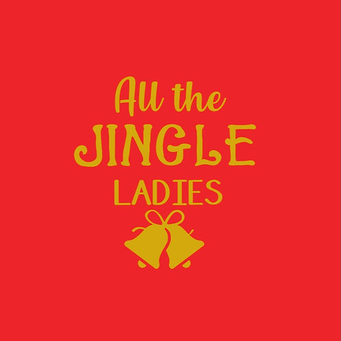 All the Jingle Ladies Dress
