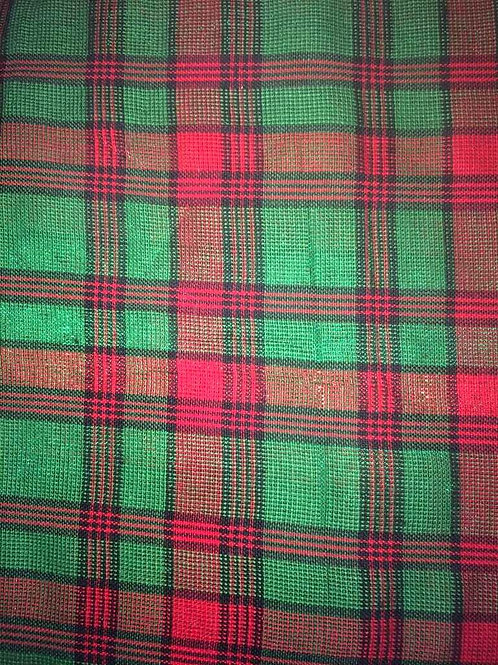 Green Sparkle Plaid