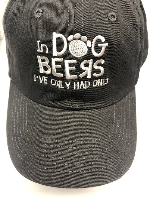 In Dog Beers, I've Only Had One Hat