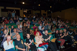 Audience at one of our concerts