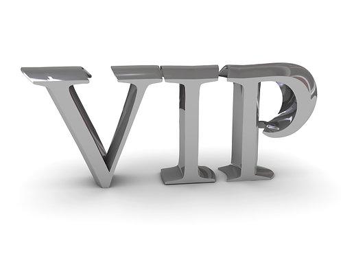 ANNUAL VIP CHARTER MEMBERSHIP
