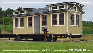 Vagoon House Countryman Tiny House Mobil Ev Tekerlekli Ev